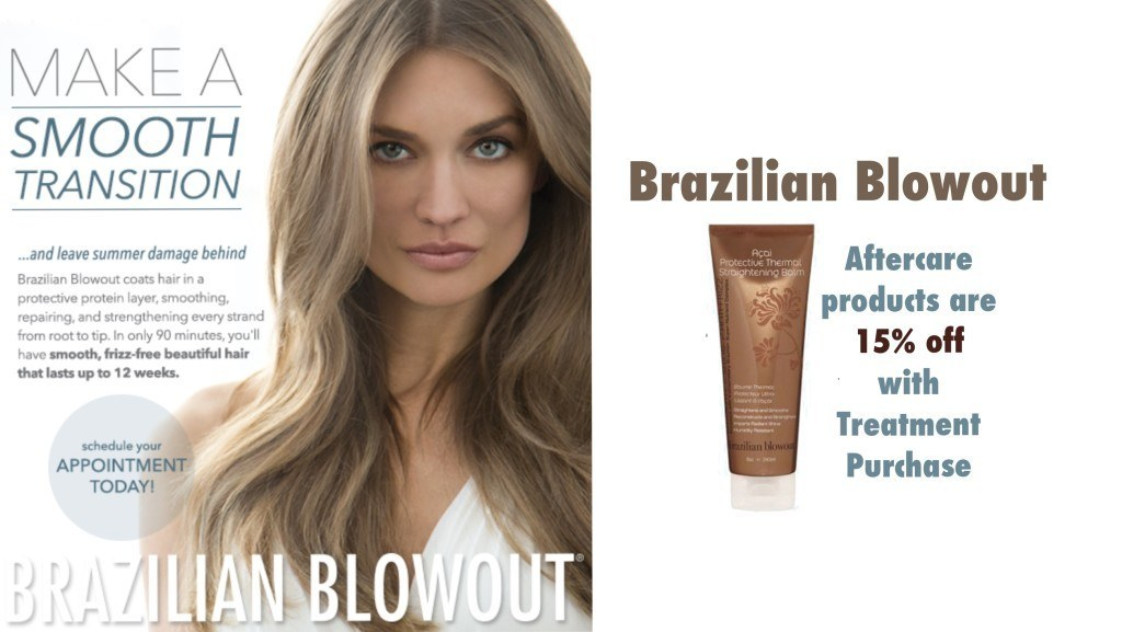Brazilian Blowout Hair keratin treatment Dubai promotion July