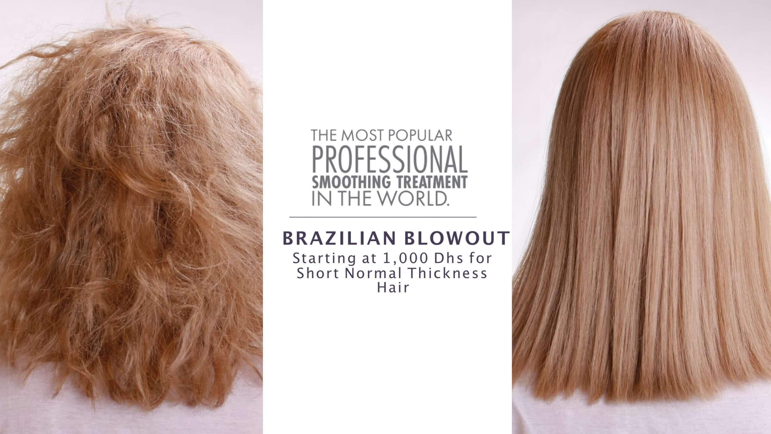 Brazilian Blowout Keratin Hair treatment Dubai