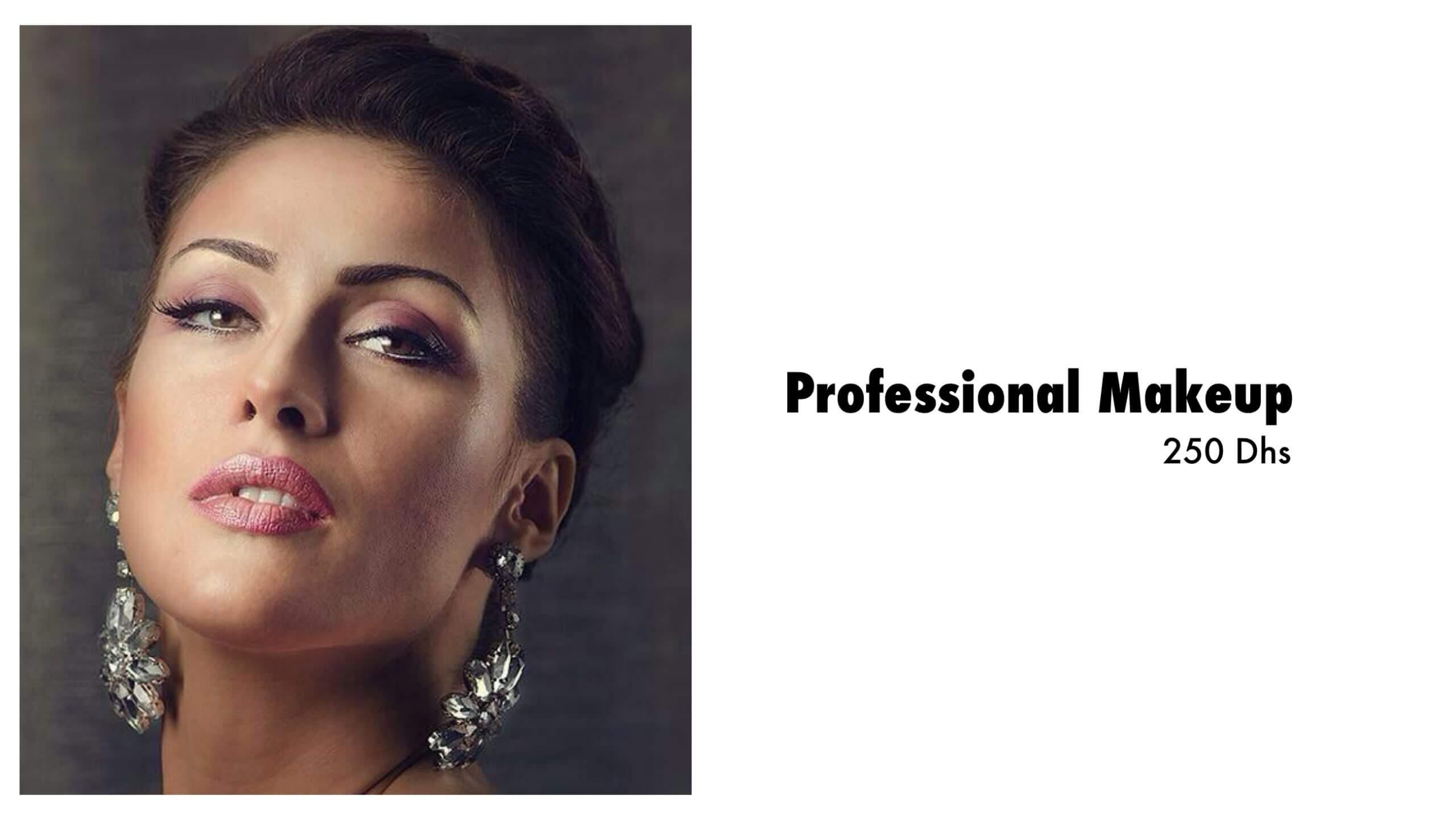professional makeup Dubai summer promotion