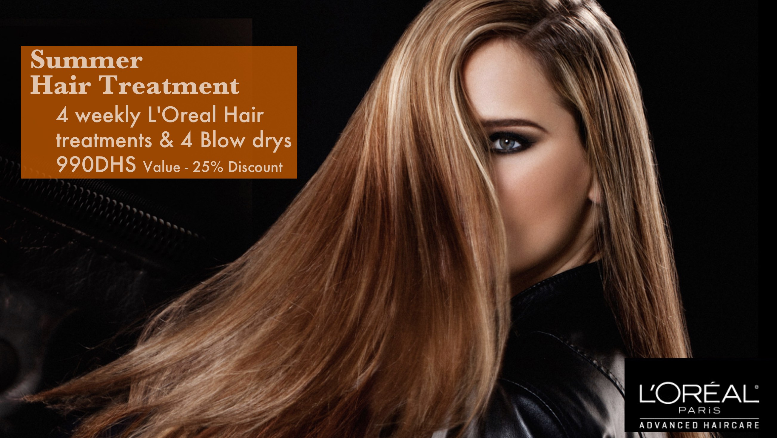 Keratin Hair treatment Dubai offer