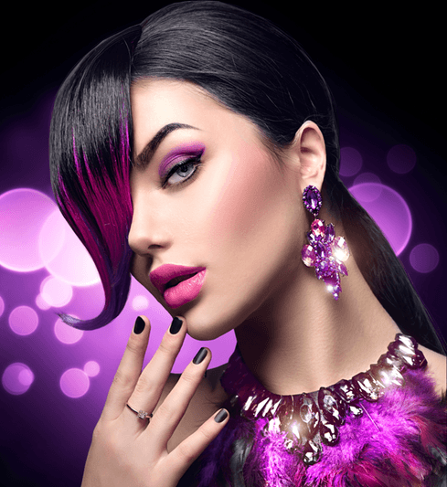 Beauty salon treatments dubai hair nails color highlights, keratin Brazilian blowout